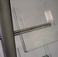 boczna kieszonka akrylowa