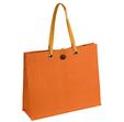 torba z juty pomarańczowa
