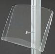 display półka akrylowa